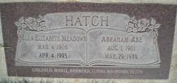 Abraham Abe Hatch