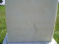 Minnie Mae <i>Hatch</i> Varnon
