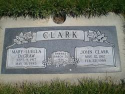Mary Luella <i>DeGraw</i> Clark