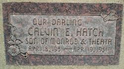 Calvin E Hatch