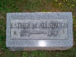 Esther M. Allspaugh
