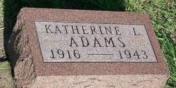 Katherine L Adams