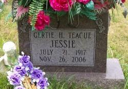 Gertie H. <i>Teague</i> Jessie