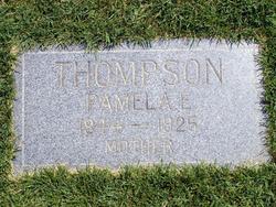 Pamelia Elizabeth <i>Barlow</i> Thompson