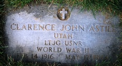 LTJG Clarence John Astill