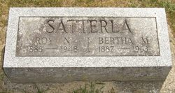 Bertha Mae <i>Creger</i> Satterla