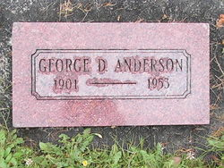 George D Anderson