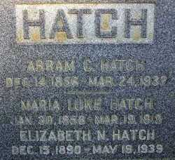 Harriet Maria <i>Luke</i> Hatch