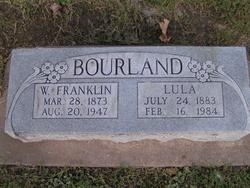 William Franklin Frank Bourland