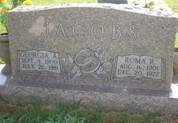 Georgia A Jacobs