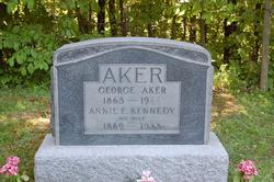 Annie E <i>Kennedy</i> Aker