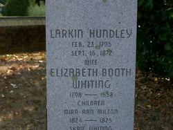 Elizabeth Booth <i>Whiting</i> Hundley