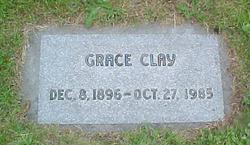 Grace B <i>Miller</i> Clay