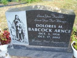 Dolores M. <i>Babcock</i> Arnce