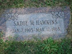 Sadie M Hawkins