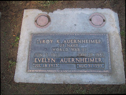 Evelyn Beatrice <i>Peterson</i> Auernheimer