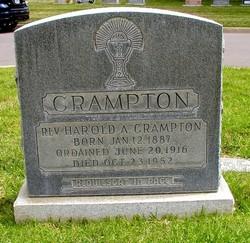 Rev Harold A. Crampton