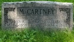 Elizabeth Lizzie <i>Brownlee</i> McCartney