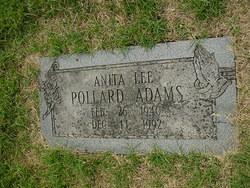 Anita Lee <i>Pollard</i> Adams