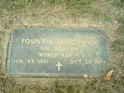 Fount E. Shoopman