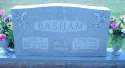 Cecil Stanley Basham