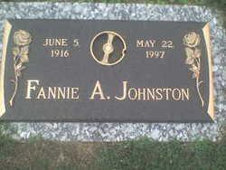 Fannie A. Johnston