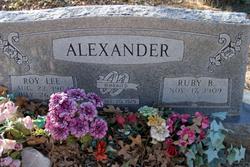 Roy Lee Alexander