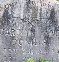 Carolyn Anne Combs