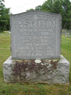 Albert W Ashton