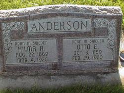 Hilma Augusta <i>Larson</i> Anderson