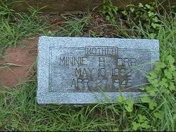Martha Minnie <i>Hairston</i> Orr