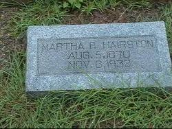 Martha P Hairston