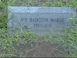 Sue <i>Hairston</i> Marsh