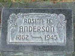 Rosena <i>Hoffman</i> Anderson