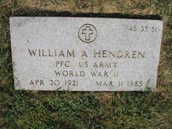 William A Hendren