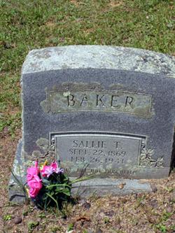 Sarah Texan Sallie <i>Tabor</i> Baker