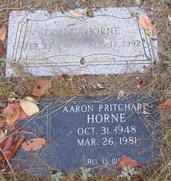 Aaron Pritchard Horne
