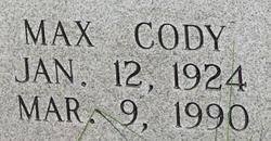 Max Cody