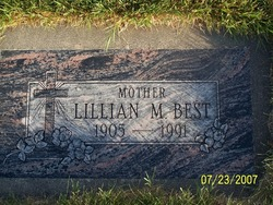 Lillian M. <i>Brunton</i> Best
