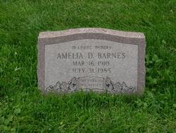 Amelia D. <i>Seek</i> Barnes
