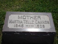Martha <i>Telle</i> Cannon