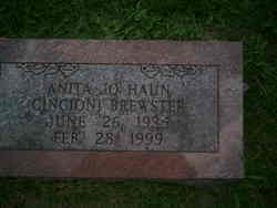 Anita Jo Haun <i>Gincioni</i> Brewster