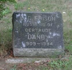 M. G. <i>Edison</i> Danby