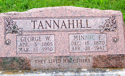 Minnie F Tannahill