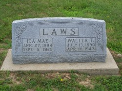 Ida Mae <i>Jones</i> Laws