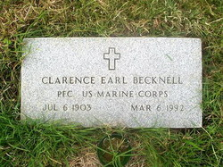 Clarence Earl Becknell
