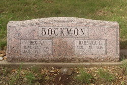 Barbara L. Bockmon