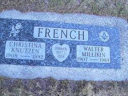 Christina Rose <i>Knutzen</i> French