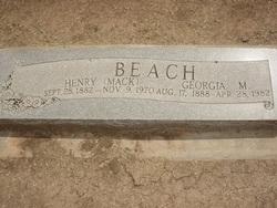 Georgia M. Beach