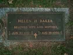 Helen Louise <i>Hawthorne</i> Baker